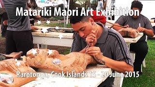Matariki Maori Art Exhibition, Rarotonga