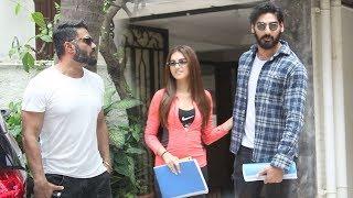 Sunil Shetty Launches his Handsome Son Ahan Shetty Into Bollywood Opposite Tara Sutaria