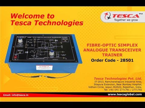 Fibre-Optic Simplex Analogue Transceiver Trainer