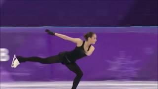 Alina Zagitova 3-3-3-3-3 practice at PyeongChang 2018