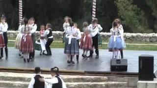 preview picture of video 'XX. Pünkösdi Gyermektánc Találkozó Sárospatak 2012.'