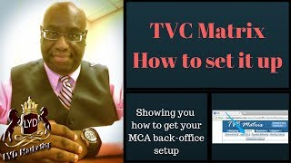 TVC Matrix How to set it up
