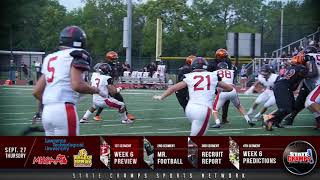 Football Forecast | Episode Six 9/27/18 | STATE CHAMPS! Michigan