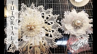 Shabby Chic Flower Paper Clips Ft. Bella Vista Marketplace