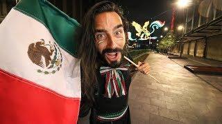 Vivo el grito de la Independencia de México por primera vez. 15 de Septiembre 2019