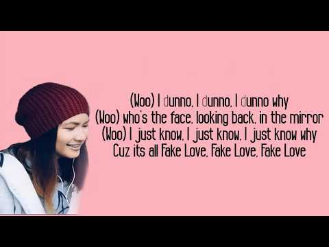 Fake Love - BTS (방탄소년단) [English Cover by Ysabelle Cuevas] Lyrics