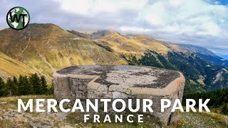 French Alps, Parc National Du Mercatour (WW1 Bunkers) - 🇫🇷 France - 4K Virtual Tour