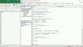 30 ENG VBA Excel   Dynamic Arrays and Redimensioning Arrays