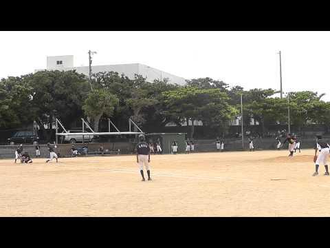 東風平中学校野球部 20150705 10