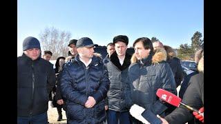 Рабочая поездка губернатора Сергея Фургала в Комсомольс...
