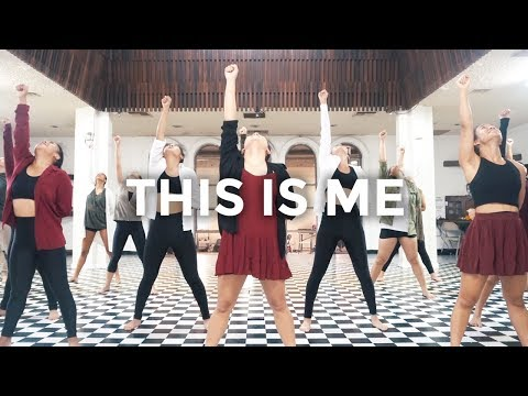 This Is Me The Greatest Showman Keala Settle Dance Video Besperon Choreography