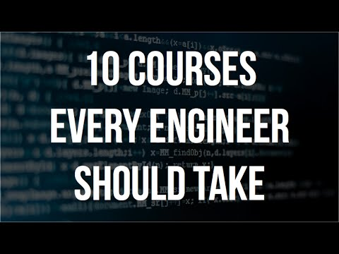 10 Courses Every Software Engineer Should Take - YouTube