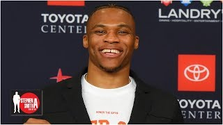 Russell Westbrook might be the best transition player ever - Tilman Fertitta | Stephen A. Smith Show