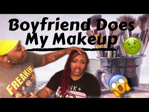 MY BOYFRIEND DOES MY MAKEUP!? 😱 | Trans Addition