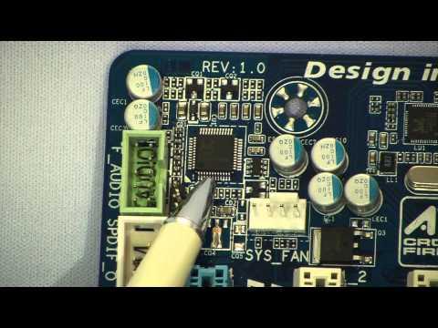 Видеообзор материнской платы Gigabyte GA-H67MA-D2H-B3 AlMoDi
