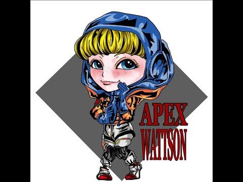 【お絵描き】APEX ちびワットソン