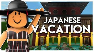 JAPAN Vacation On Bloxburg!!! | Roblox Bloxburg | SunsetSafari