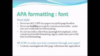 apa formatting for powerpoint how to apply apa style to powerpoint