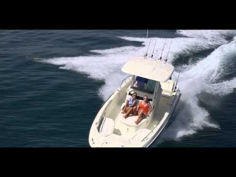 Boston Whaler 270 Dauntless video