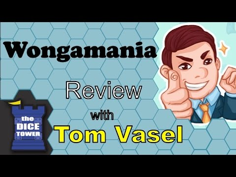 Wongamania review with Tom Vasel