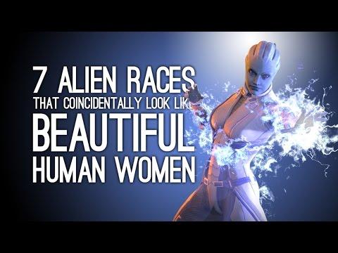 7 Alien Races That Look Like Beautiful Human Women by ...