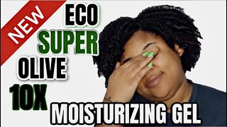 I Tried The *NEW* Eco Style Super Olive 10X Moisturizing Gel | Type 4 Natural Hair