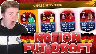 OMG BEST NATION FUT DRAFT DEUTSCHLAND/GERMANY  FIFA 16 ULTIMATE TEAM DEUTSCH