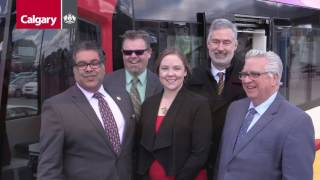Big big news today for Calgary Transit customers along the Blue Line