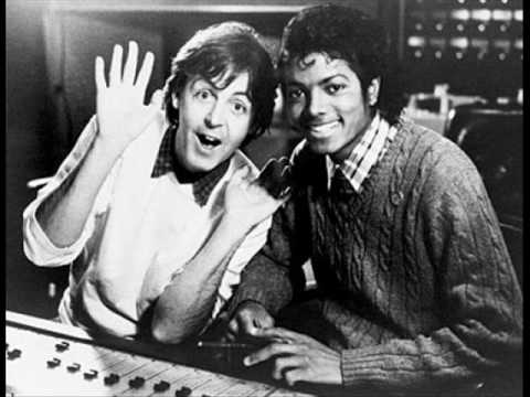 Michael Jackson & Paul McCartney - The Man (with lyrics)