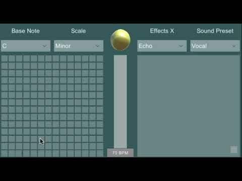 Dual Touch Synth Demo Video