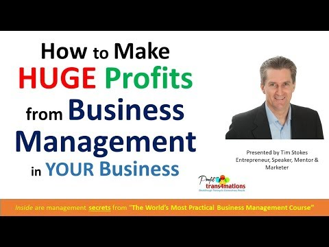 Business and Management FREE Profit Increases   Business ...