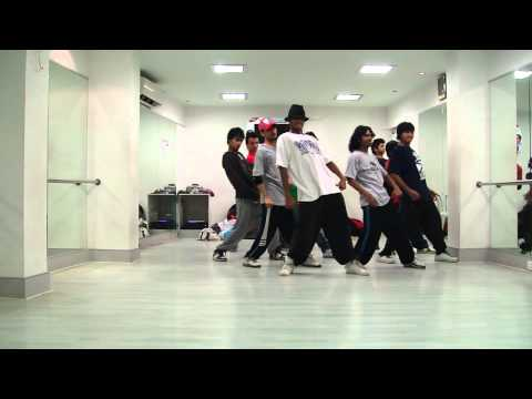 Crazy Girl (Timbaland and JT) with Melvin Louis @ Dance Inc. (HD)