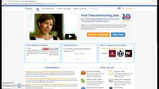 FlexJobs Job Search Tutorial