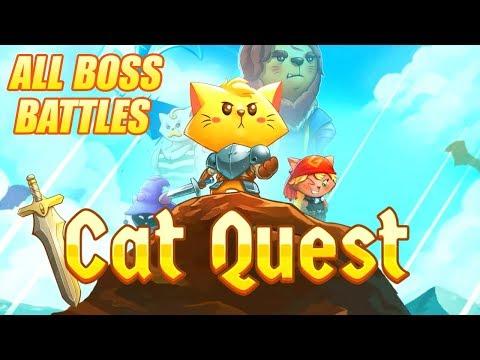 Cat Quest - All Bosses