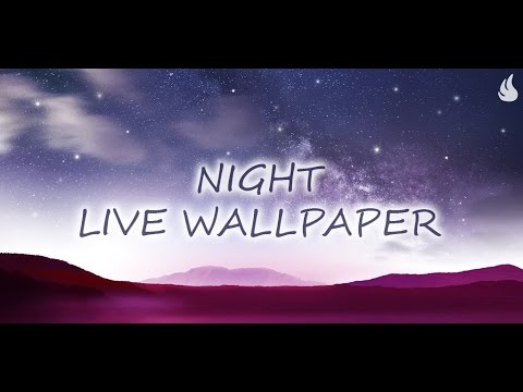 Video of Night Live Wallpaper