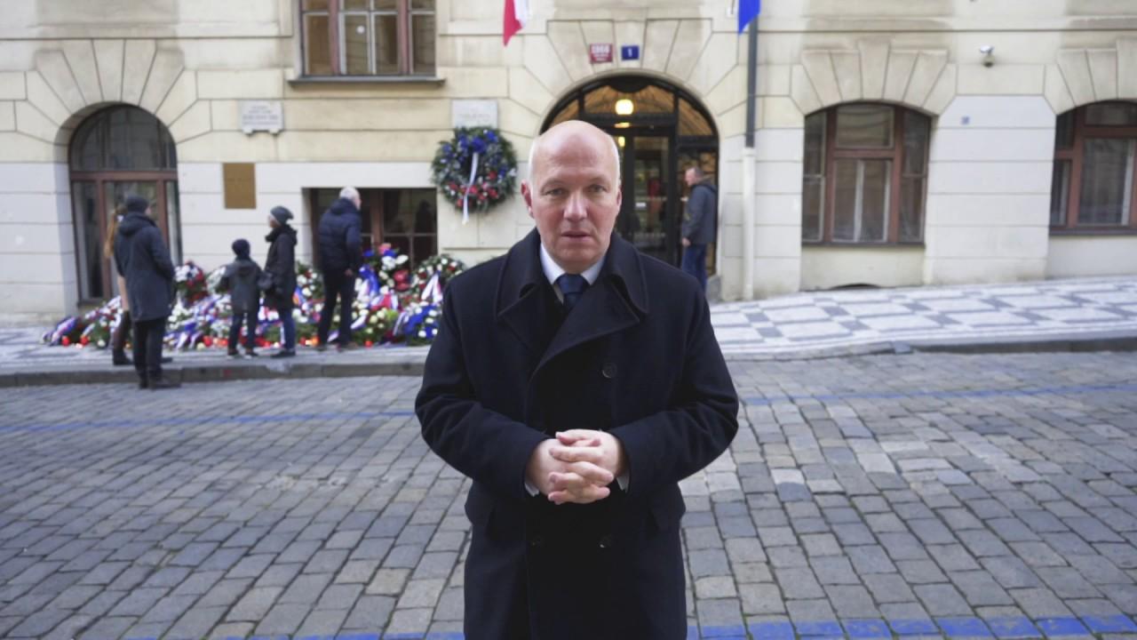 Apel Pavla Fischera k výročí 17. listopadu