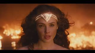 """Wonder Woman Destroys Ares"" Scene Wonder Woman"