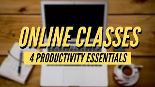 Online Classes: 4 Tools & Apps for College/University Students