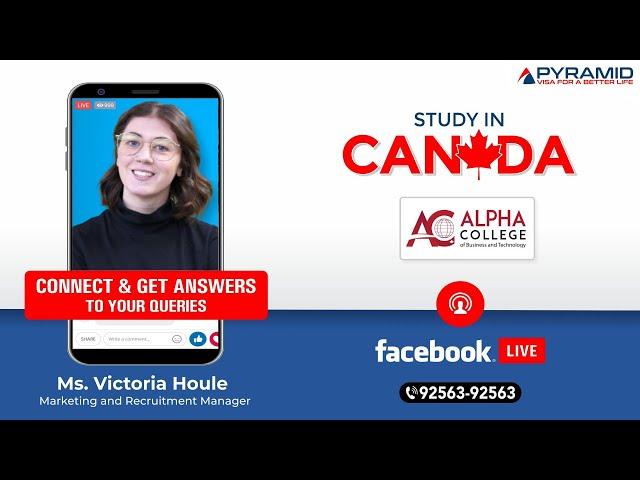 Alpha College Facebook-Live!!!