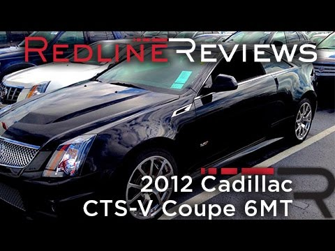 2012 Cadillac CTS-V Coupe 6MT Walkaround, Start Up, Exhaust, Review
