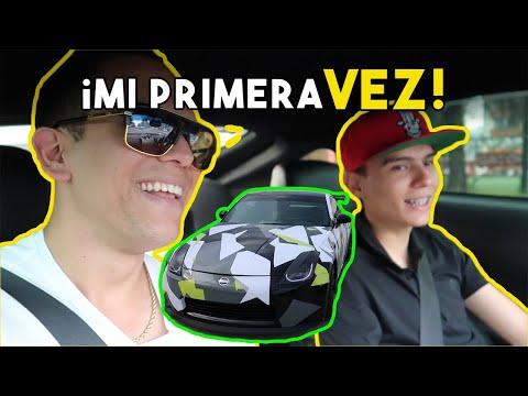 PROBANDO EL NISSAN 350Z DE MANUEL RIVERA 11 || ALFREDO VALENZUELA
