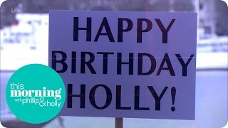 Holly Willoughby Gets A Birthday Surprise! | This Morning