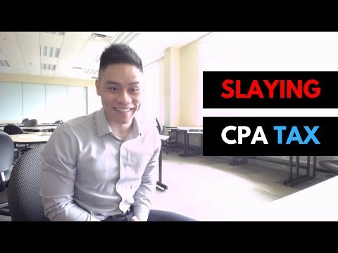 SLAYING the CPA Tax Elective - YouTube