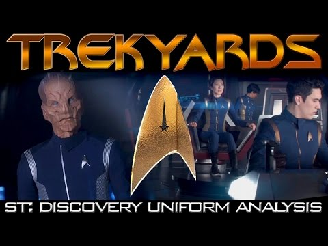 ST: Discovery Uniforms Full Analysis (Trekyards) | MTW