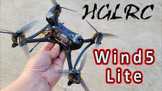 HGLRC Wind5 Lite FPV Racing Drone Review