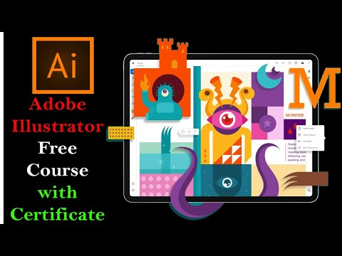 Adobe Illustrator CC 2020 Free Course with Certificate