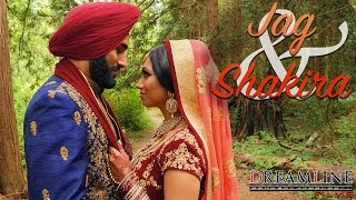 Sikh Wedding Highlights | Vancouver, BC | Jag & Shakira