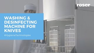 WASHING MACHINES FOR KNIVES AND UTENSILS