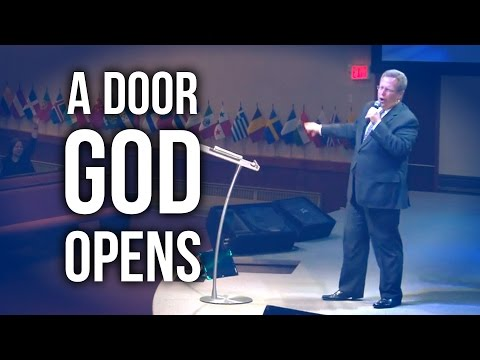 """A Door God Opens"" – Pastor Raymond Woodward"