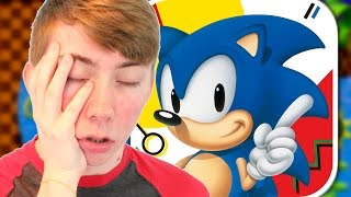WORST SONIC PLAYER EVER! - Sonic The Hedgehog - Part 2 (iPhone Gameplay Video)